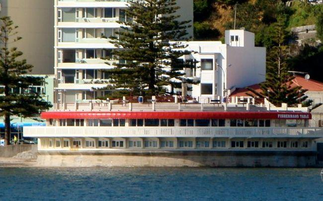 The Oriental Bay band rotunda has housed restaurants in the past, including the Fisherman's Table.