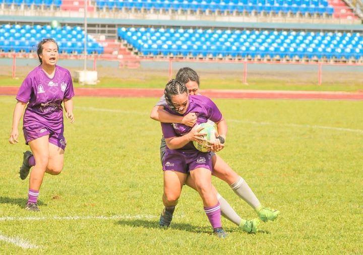The Samoa women's sevens team held trials in January.