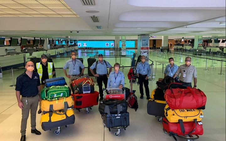 Australian Medical Assistance Team leaving for Fiji.