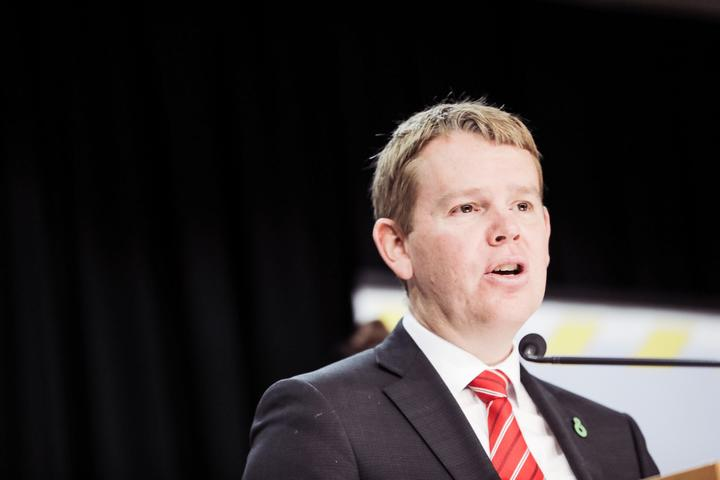 Covid-19 Response Minister Chris Hipkins at the Covid-19 media briefing on 14.7.2021.