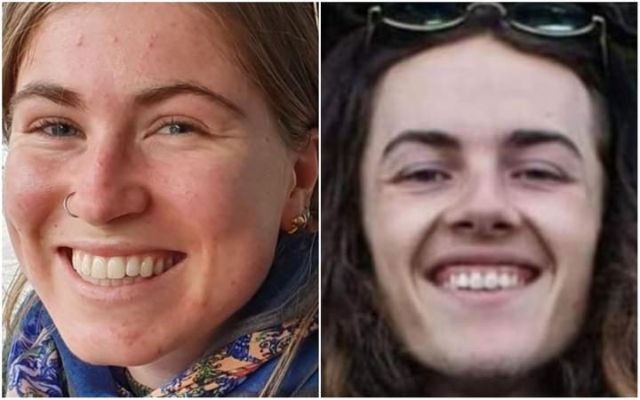 Jessica O'Connor and Dion Reynolds failed to return from their tramp when expected.