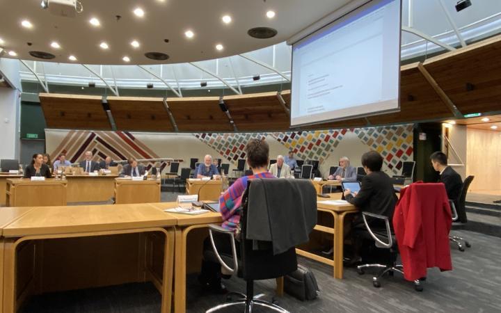 The Rotorua Lakes Council meeting on Thursday.