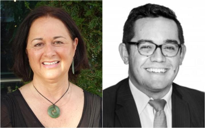 Professor of indigenous studies Tracey McIntosh and criminal defence lawyer Kingi Snelgar.