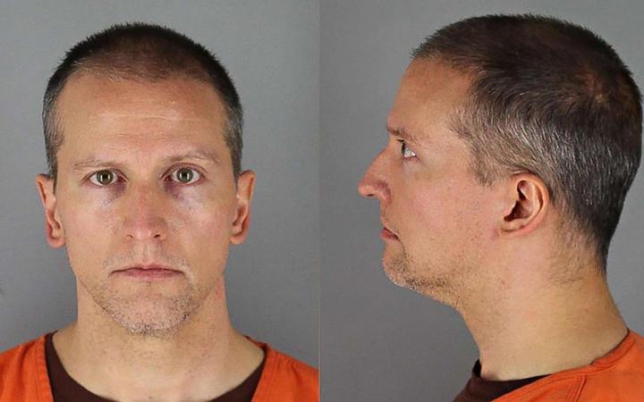 Booking photos of former Minneapolis police officer Derek Chauvin