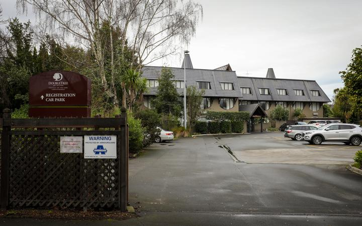 Chateau on the Park Hotel in Christchurch is one of the isolation facilities.