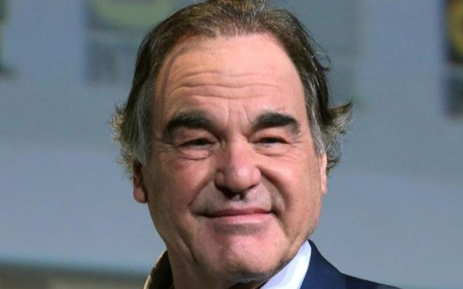American film director Oliver Stone in 2016
