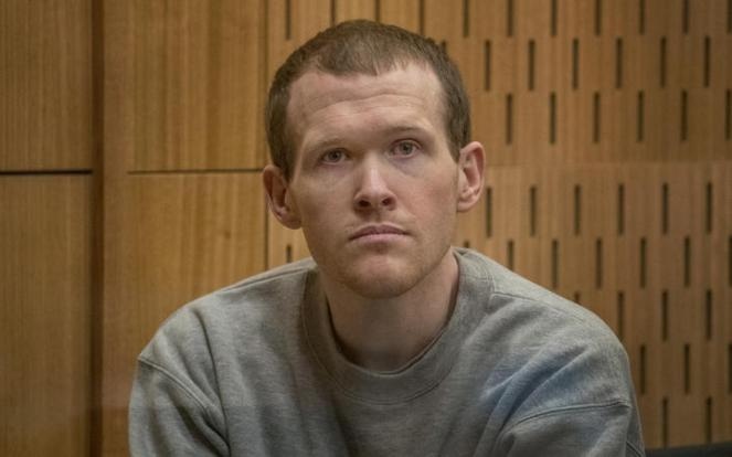 Sentencing for Brenton Tarrant on 51 murder, 40 attempted murder and one terrorism charge. PHOTO: JOHN KIRK-ANDERSON