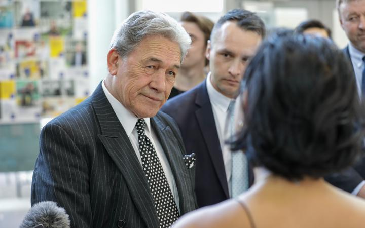 New Zealand First Party leader Winston Peters.