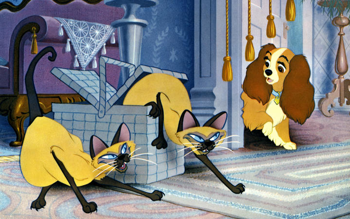 The Siamese cats in Lady and the Tramp perpetuated anti-Asian stereotypes.