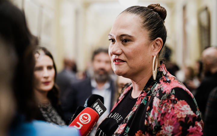 Carmel Sepuloni heading into the Labour caucus where Prime Minister Jacinda Ardern will brief MPs on her ministerial preferences for the new government.
