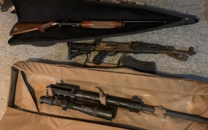 Eight firearms were seized during Operation Hare.
