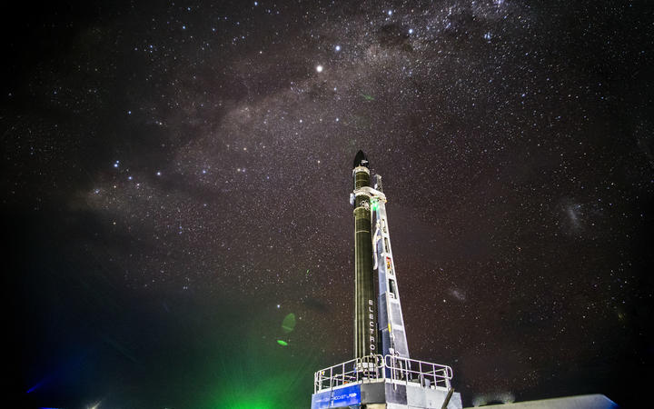 The launch site for the Electron rocket at Rocket Lab in Mahia, New Zealand in June 16, 2018.