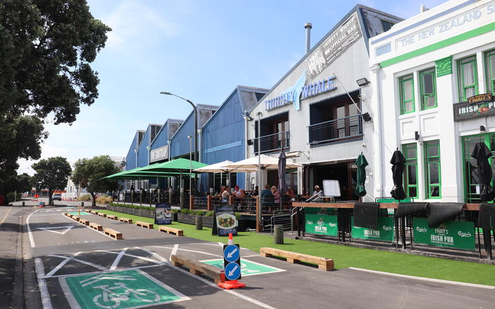 he Thirsty Whale on West Quay in Ahuriri, Napier is operating as normal after a gang shooting at the weekend.