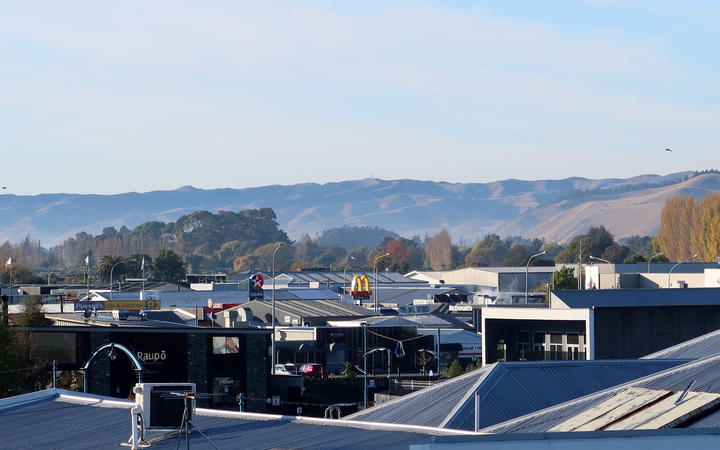 Blenheim's air was unsafe to breathe for two days in May last year.