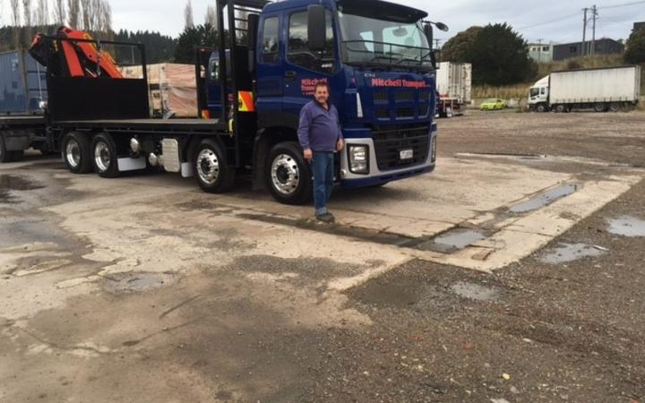Bruce Mitchell ran Mitchell Transport in Mosgiel for 16 years up until 2019.