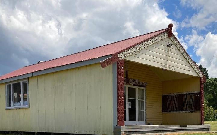 Students are planning to learn from the neighbouring Tuatini Marae, at least until the end of term.
