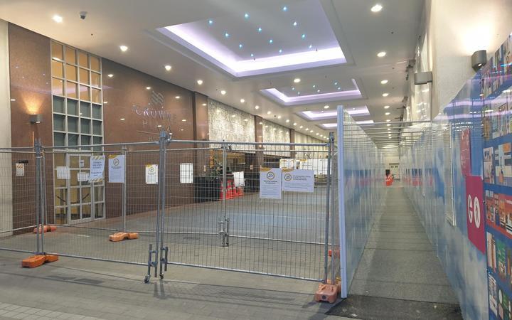 Crowne Plaza MIQ facility in Auckland.