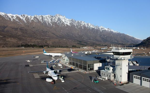 Queenstown Airport.