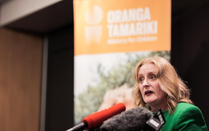 Oranga Tamariki CEO Gráinne Moss.