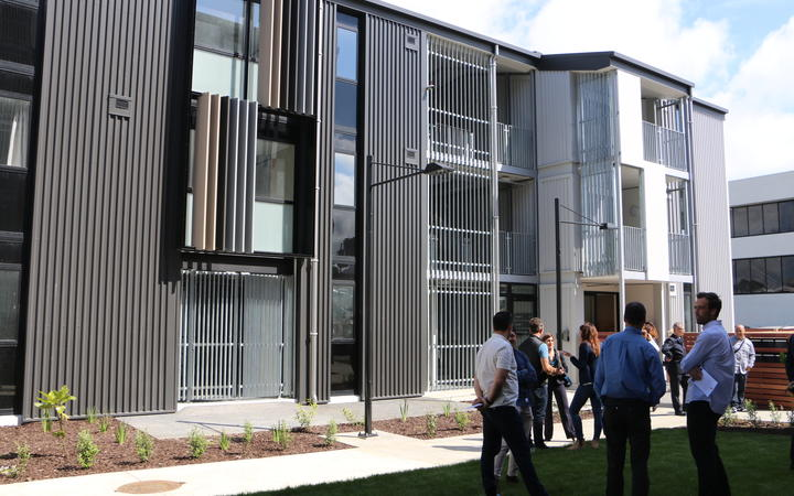 Salvation Army officially opened its $28 million housing block Te Hononga Tangata.