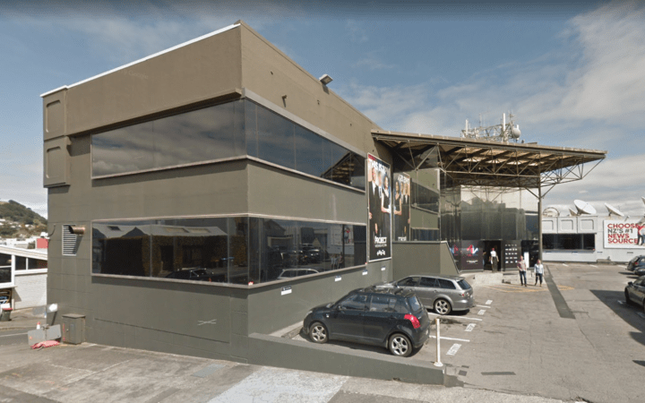 The MediaWorks property on Flower Street in Auckland central.
