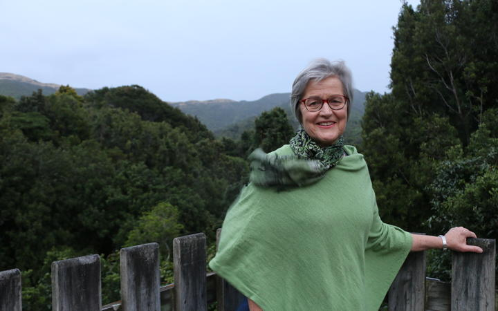 Conservation Minister Eugenie Sage unveiled the Predator Free 2050 Strategy at Otari Wilton's Bush this morning.