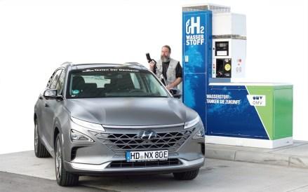 Wie funktioniert das mit dem Wasserstoff im Auto?