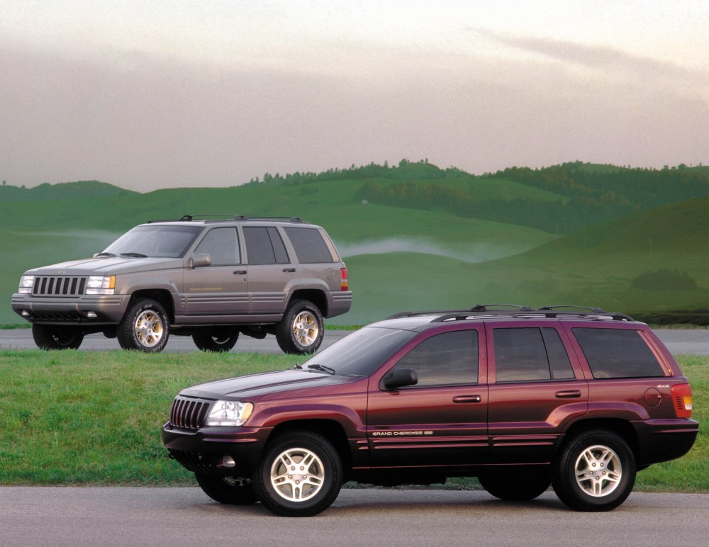 medium resolution of older jeep grand cherokee under investigation for gas tank problem