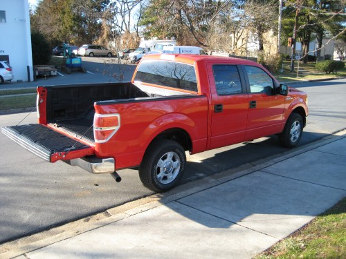small resolution of 2012 ford f 150 xlt rear 3 4 view