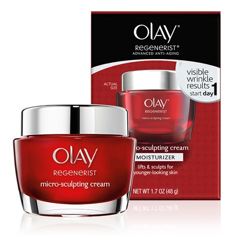 Olay Regenerist Micro Sculpting Cream Moisturizer Review