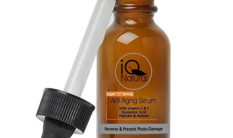 Highest concentration Vitamin C serum with 20% L-ascorbic acid