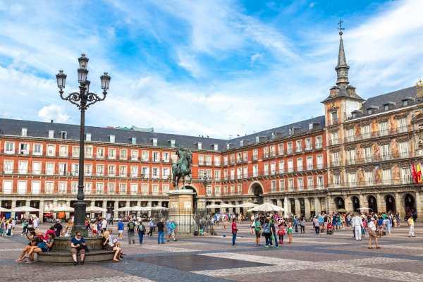 In Madrid Spain Road Affair