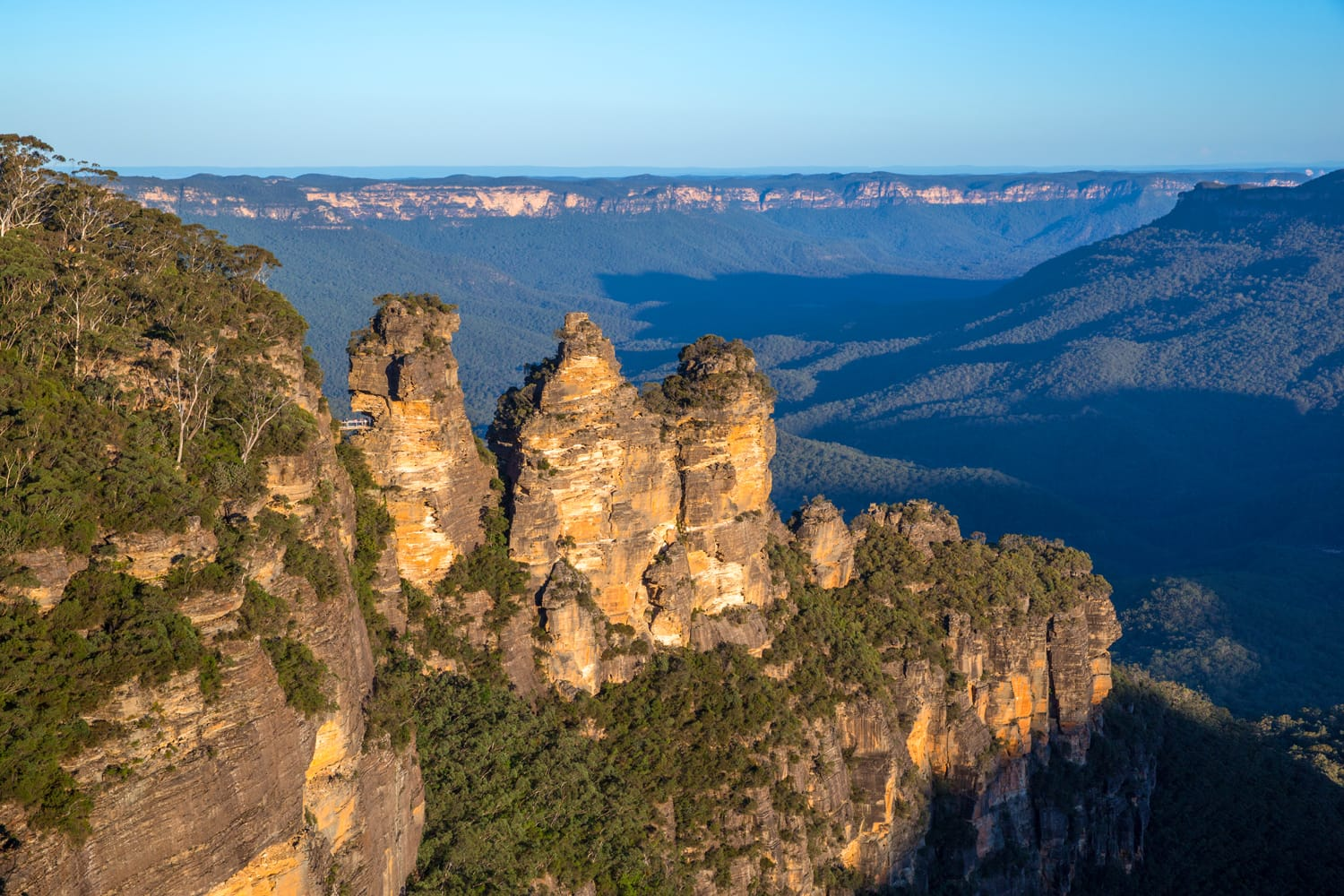 Three Sisters Rocks, Blue Mountains National Park, Katoomba, Australia