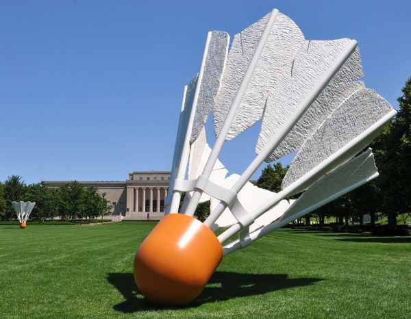 Claes Oldenburg Shuttlecocks