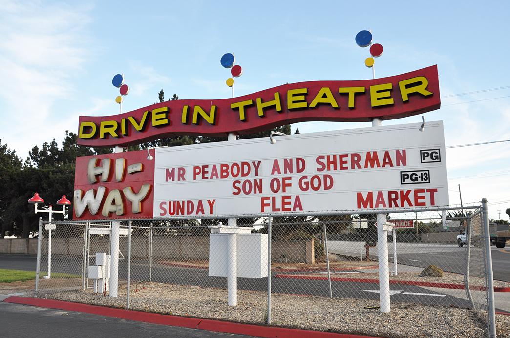 California Drivein Theatres  RoadsideArchitecturecom