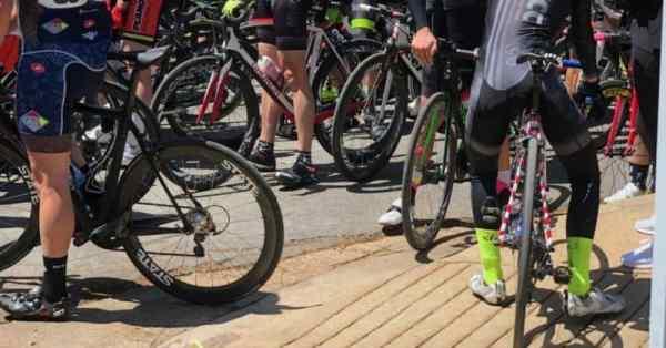 cycling hot foot