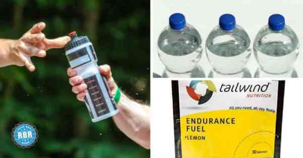 water or sports drink