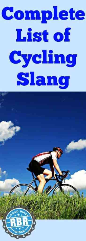 Complete List of Cycling Slang and Terms