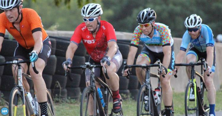 cyclists in a paceline