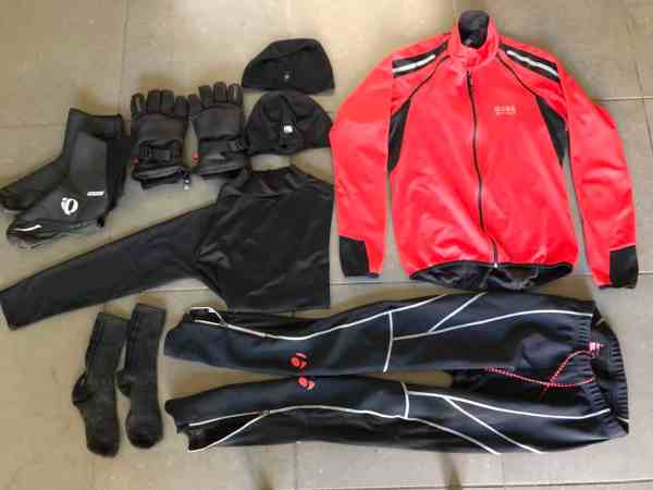 25 degrees what to wear on a road bike