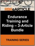 Endurance Training and Riding -- 3-Article Bundle