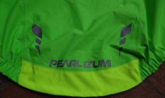 Pearl Izumi Short Sleeve Rain Jacket.Tail.WEB