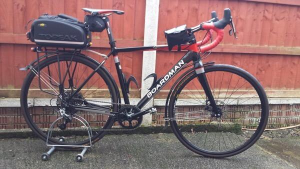 Boardman 1x gravel bike