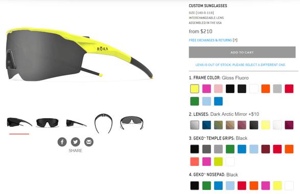 ba35d908e10 ROKA Sunglasses Models SR-1X