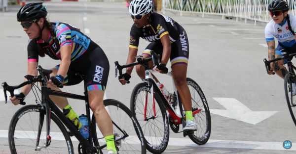 crossed bicycle wheels