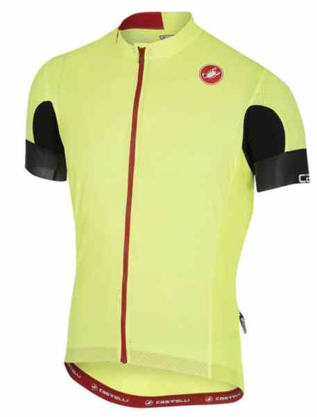 Castelli Aero Race 4.1 High Visibility Jersey and High Visibility Circuito Gloves Review