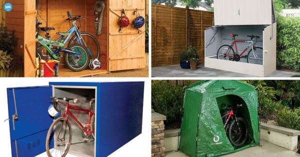 Best Outdoor Bicycle Storage Sheds - Road Bike Rider