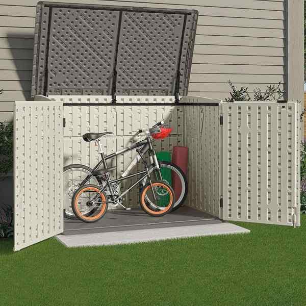 suncast bike shed