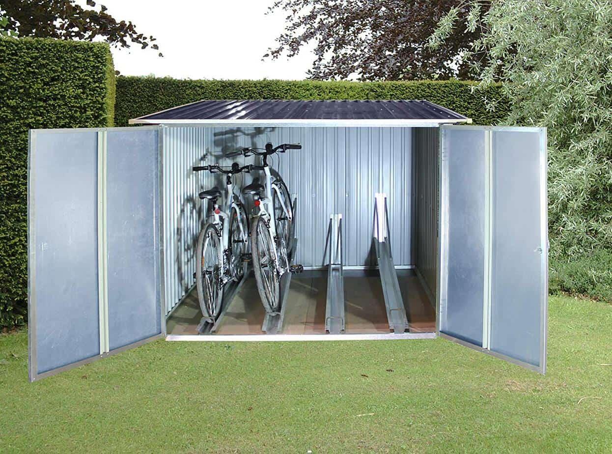 best deals on bike sheds