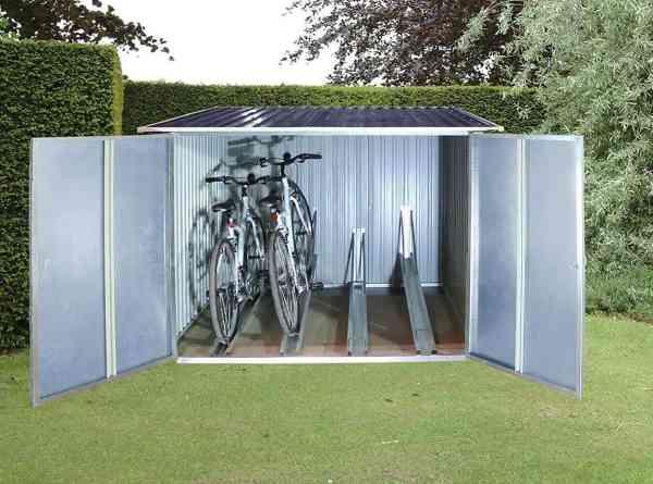 dura max bike shed